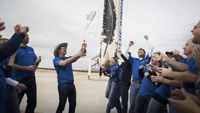 new shepard blue origin turism spatial