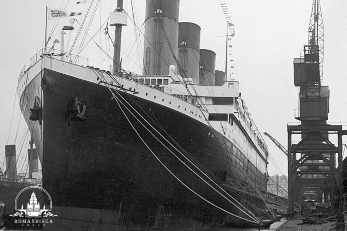 titanic china