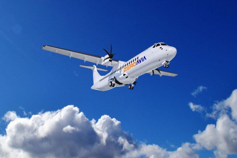 zeroavia avion hidrogen